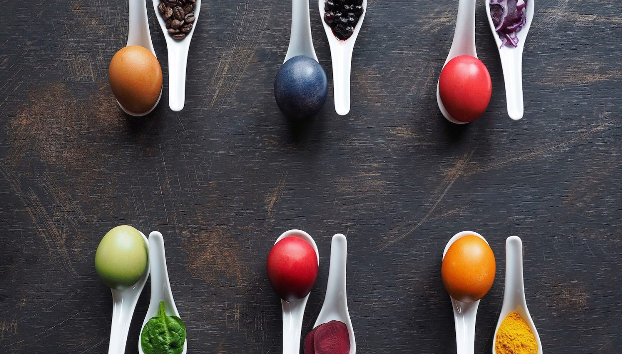 pisanki, barwniki do jajek