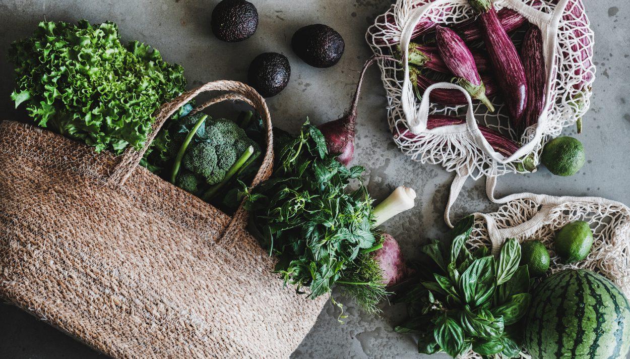 zakupy, zero waste, warzywa