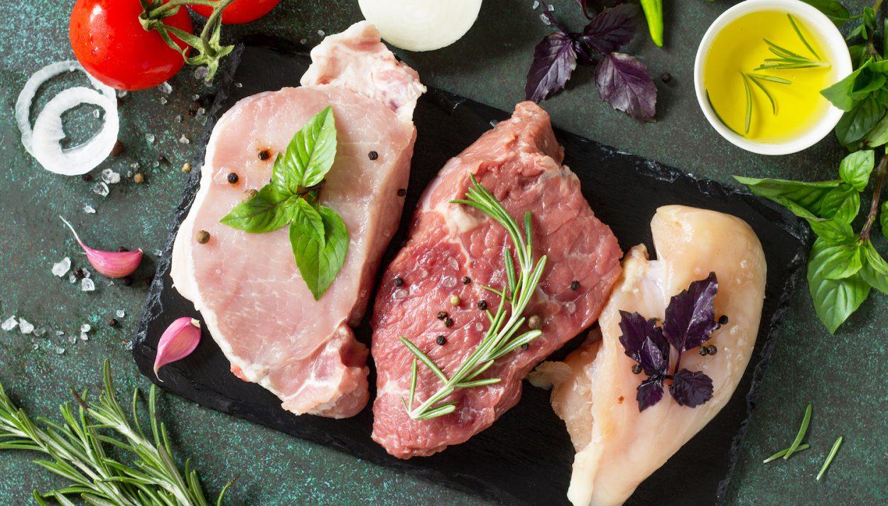 mięso, drób, wołowina, wieprzowina