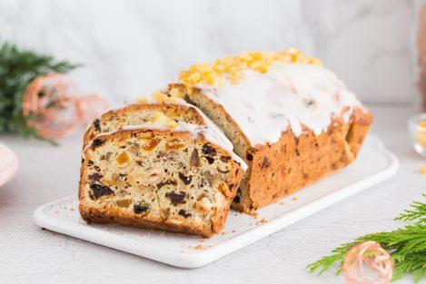 keks, przepis na keks, świąteczny keks, majonez napoleoński mosso
